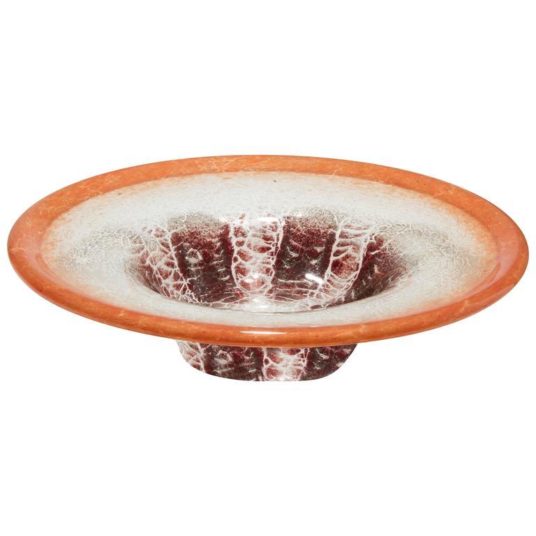 Large wmf ikora low centerpiece bowl at stdibs