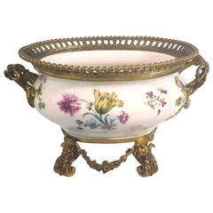 Ormolu-Mounted Meissen Porcelain Centerpiece, circa 1780