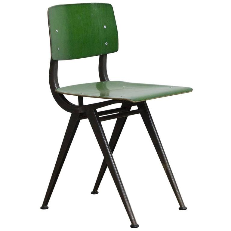 "1958, Friso Kramer, Very Rare Teenager Size Result Chair for ""De Cirkel, Holland 1"