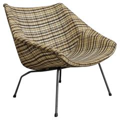 1957, André Cordemeyer, Chair 416 Upholstered Version by Gispen Holland