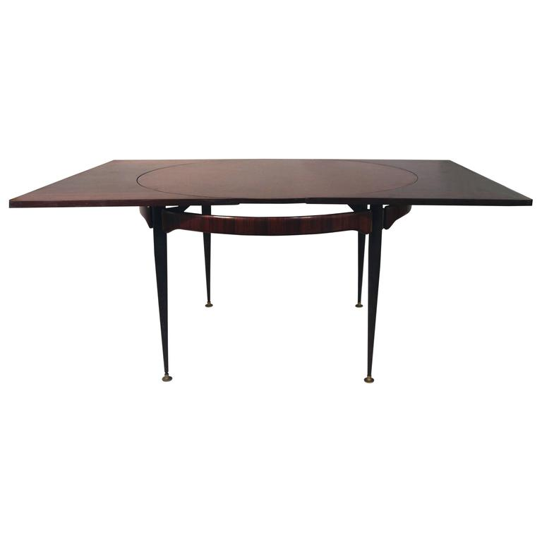 Attributed to Franco Albini, Dining Table, Rosewood, circa 1970