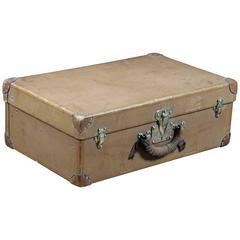 1920 Louis Vuitton Natural Leather Suitcase