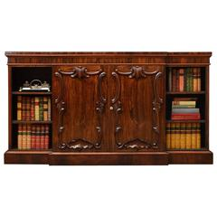 Stylish Victorian Rosewood Bookcase or Sideboard