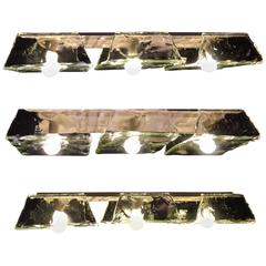Three Murano Pendants of Murano by Nason for Mazzega, 1970s