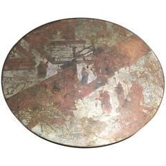 Large Laverne Chan Pedestal Table
