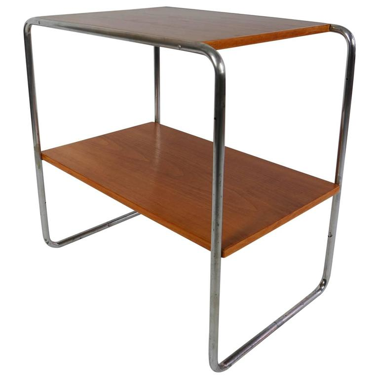 1930s Bauhaus Marcel Breuer Console Table At 1stdibs
