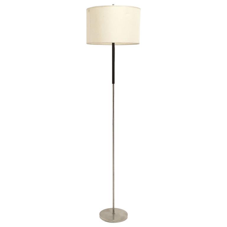 """Italian Adjustable Floor Lamp Mod. """"380"""" by Giuseppe Ostuni for O-Luce, 1960s"""