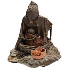'Ukuphila' Original Sculpture by Annie Marsters, 2014
