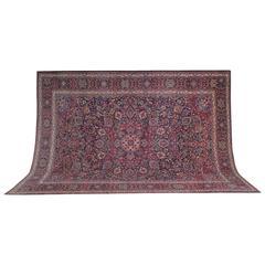 Antique Persian Rugs, Carpet from Mashhad