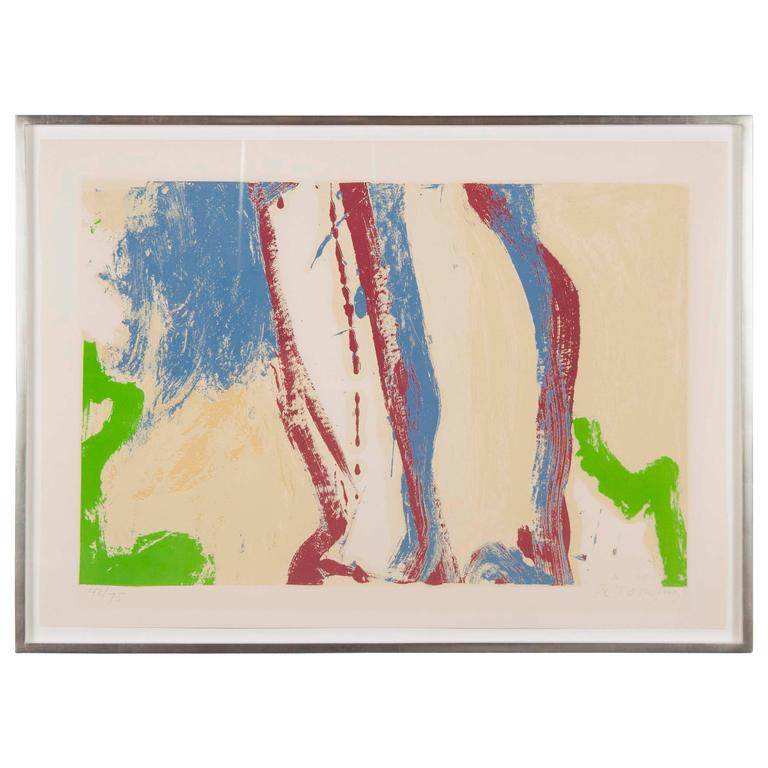 Untitled Silkscreen by Abstract Expressionist Artist Willem de Kooning