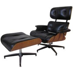 Eames Styled Lounge Chair and Ottoman