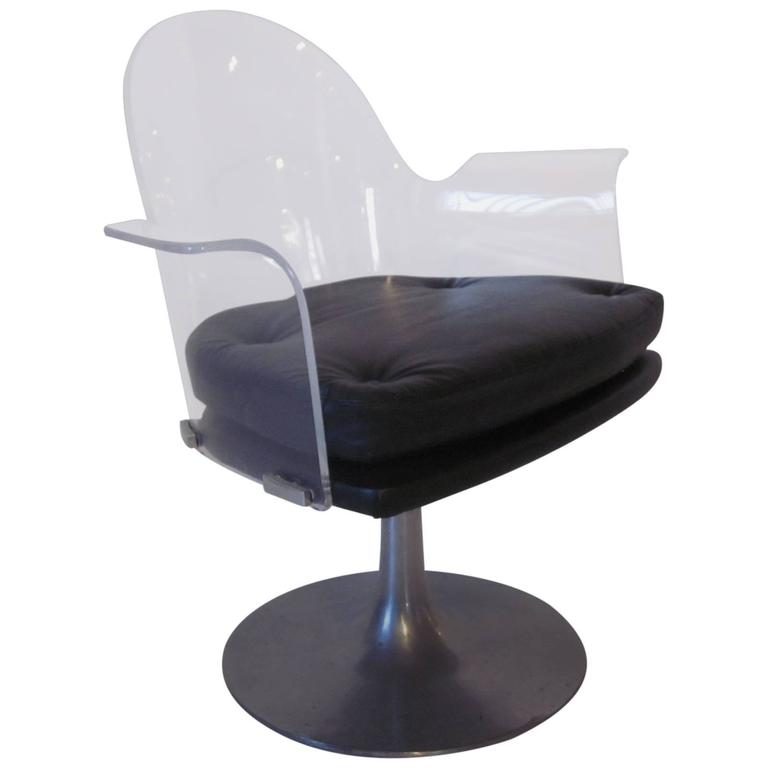 swivel chairs for sale lucite upholstered swivel chair for at 1stdibs 5964