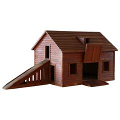 Wooden Miniature Farmhouse