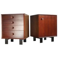 George Nelson Nightstands or End Tables