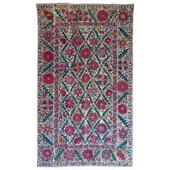 Suzani Antique Embroidery from Central Asia