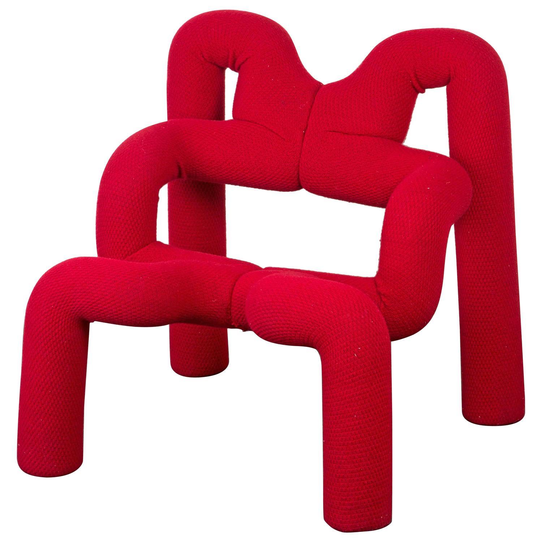 Quot Ekstrem Quot Lounge Chair By Terje Ekstr 246 M For Sale At 1stdibs