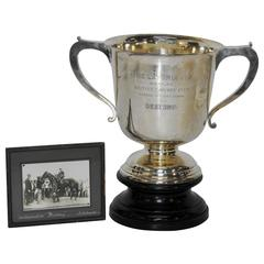 1925 Sterling Silver Kentucky Latonia Horse Race Cup