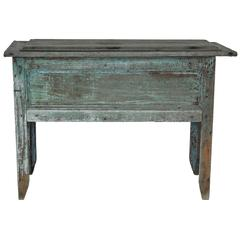 Early 20th Century Lift Top Storage Chest