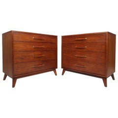 Pair of Mid-Century Modern Chest of Drawers by Henredon