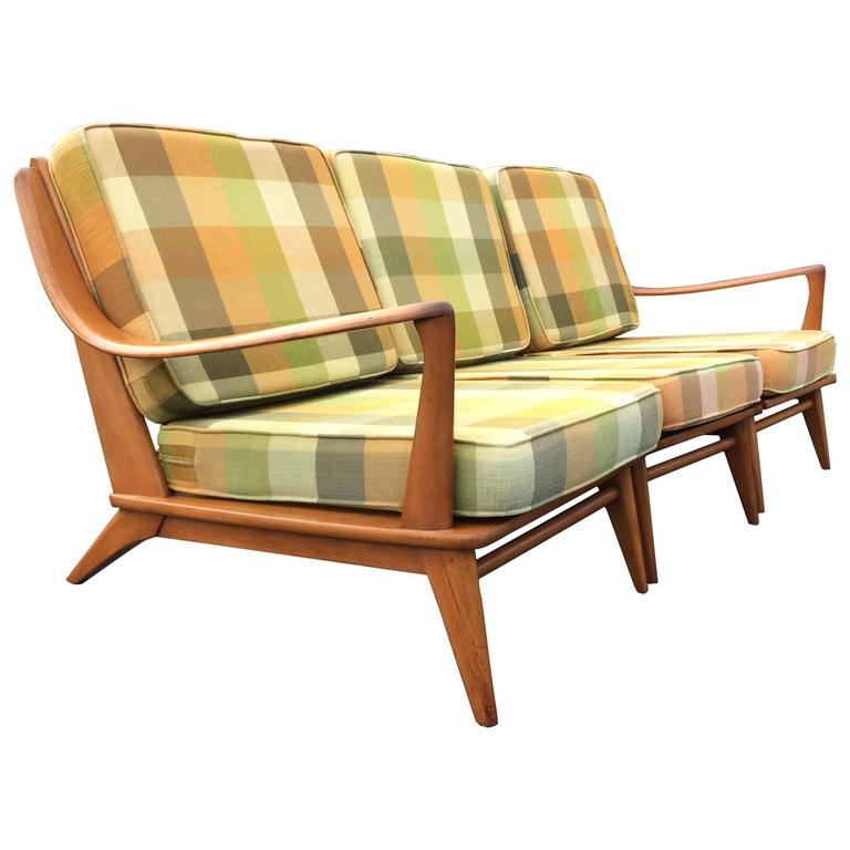 Cool Heywood Wakefield Sofa Usa 1950s At 1stdibs