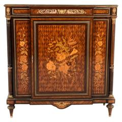French Inlaid Louis XVI-Revival Cabinet