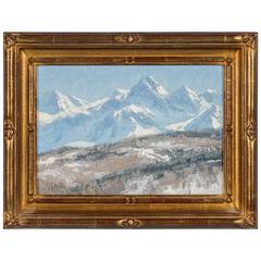 Matt Smith Original Oil on Linen Painting of the Colorado Mountains