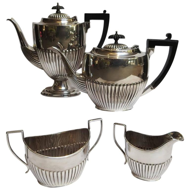 Art Deco Silver Plated Coffee and Tea Service 1