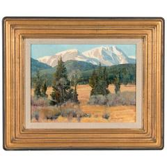Stephen Elliott Original Oil Painting, Rocky Mountain National Park Colorado