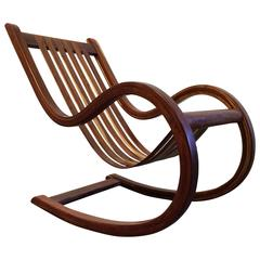 Designer Studio Crafted Rocking Chair Rocker, Mexico