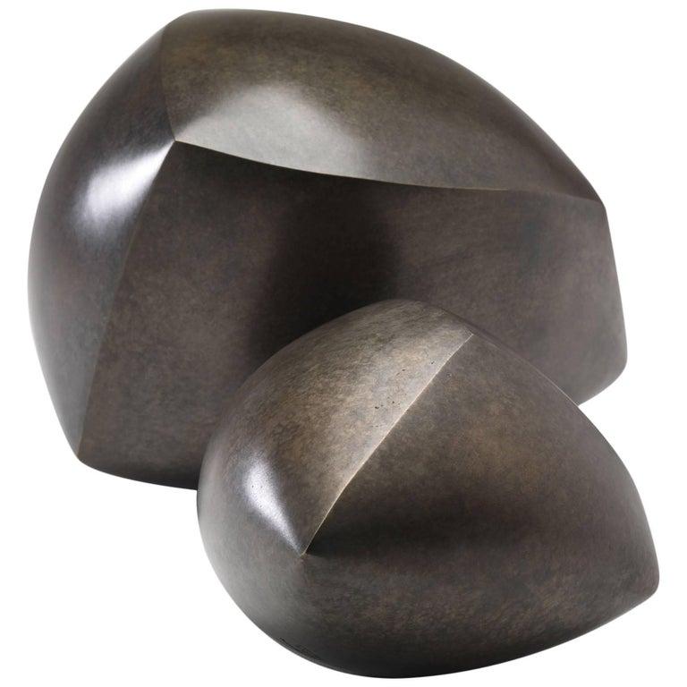 Bronze Sculptures by Ann Van Hoey For Sale