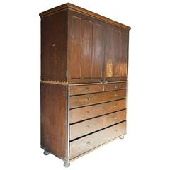 19th Century Welsh Train Station Cabinet