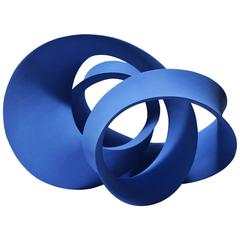"""""""Blue Entwined Form"""" by Merete Rasmussen"""