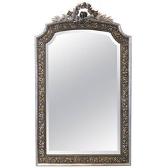 French Mirror Napoleon III Gold and Silver