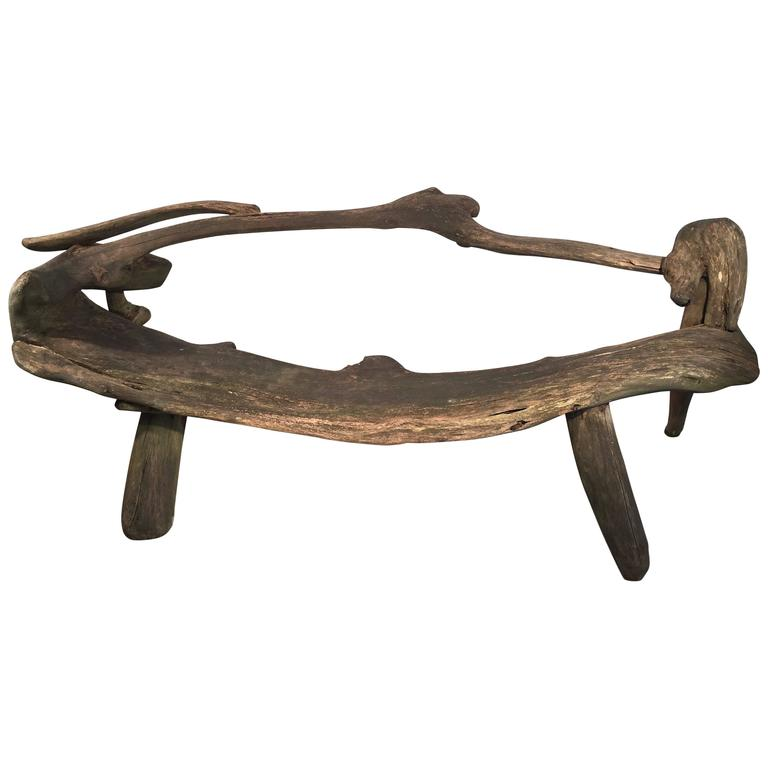 driftwood benches for sale sculptural free form driftwood garden bench at 1stdibs 6967