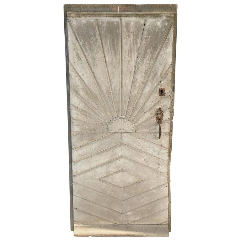 18th century french door with sunburst design for sale at 1stdibs