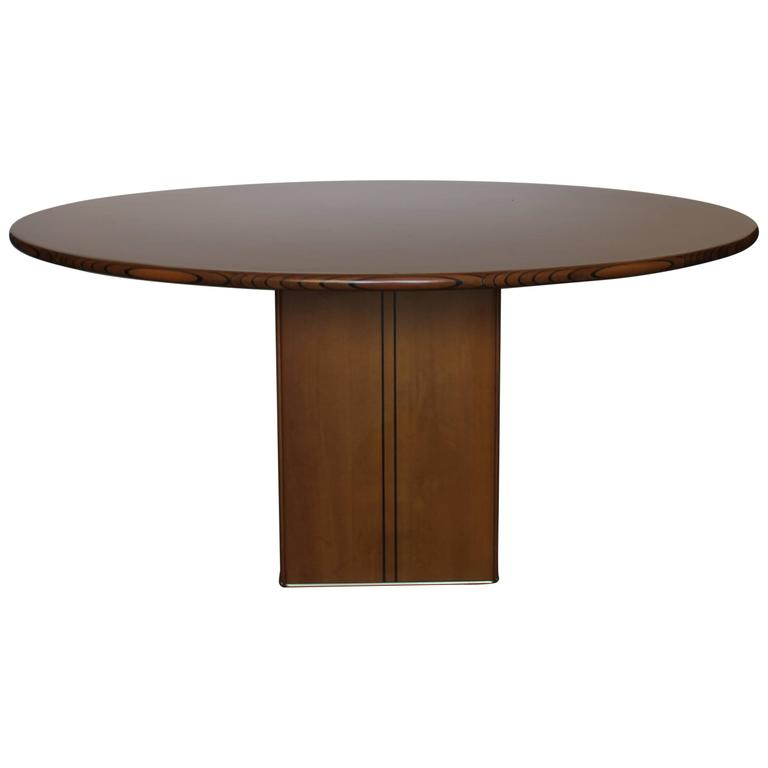 Afra &Tobia Scarpa Round Table For Sale