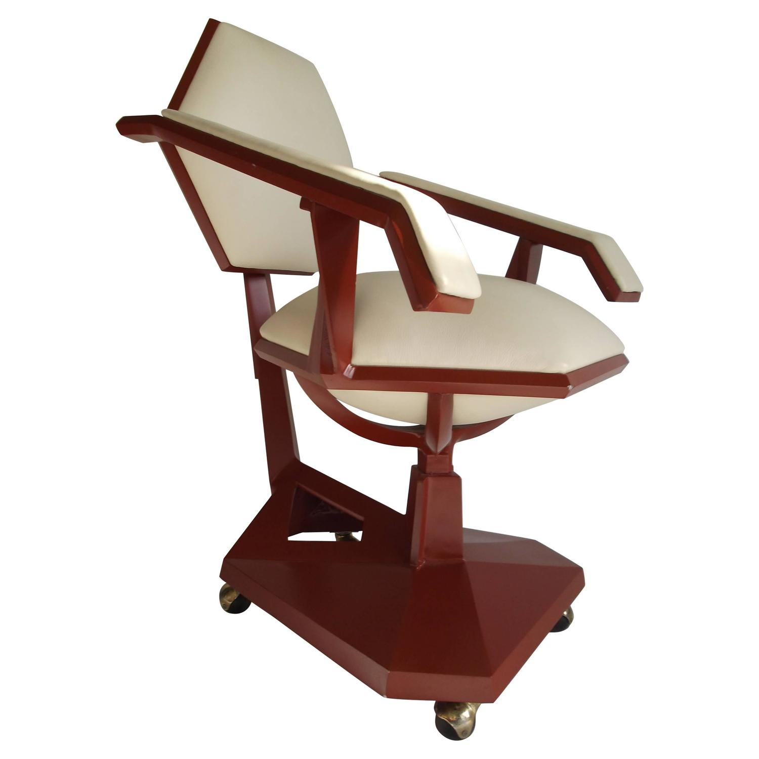 Incroyable Frank Lloyd Wright Price Tower Secretary Armchair, 1955 For Sale At 1stdibs