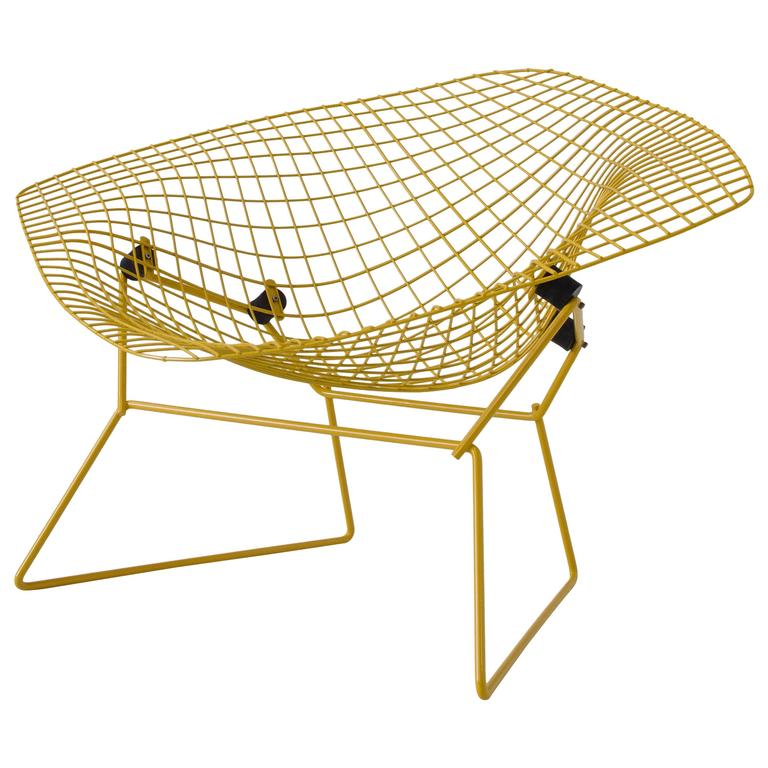 Rocking Diamond Chair by Harry Bertoia