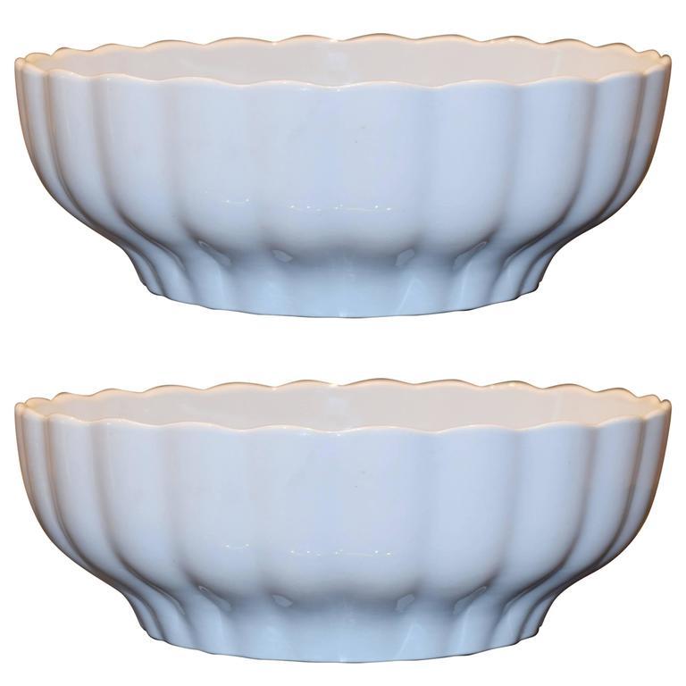 vintage serving bowls by richard ginori 1