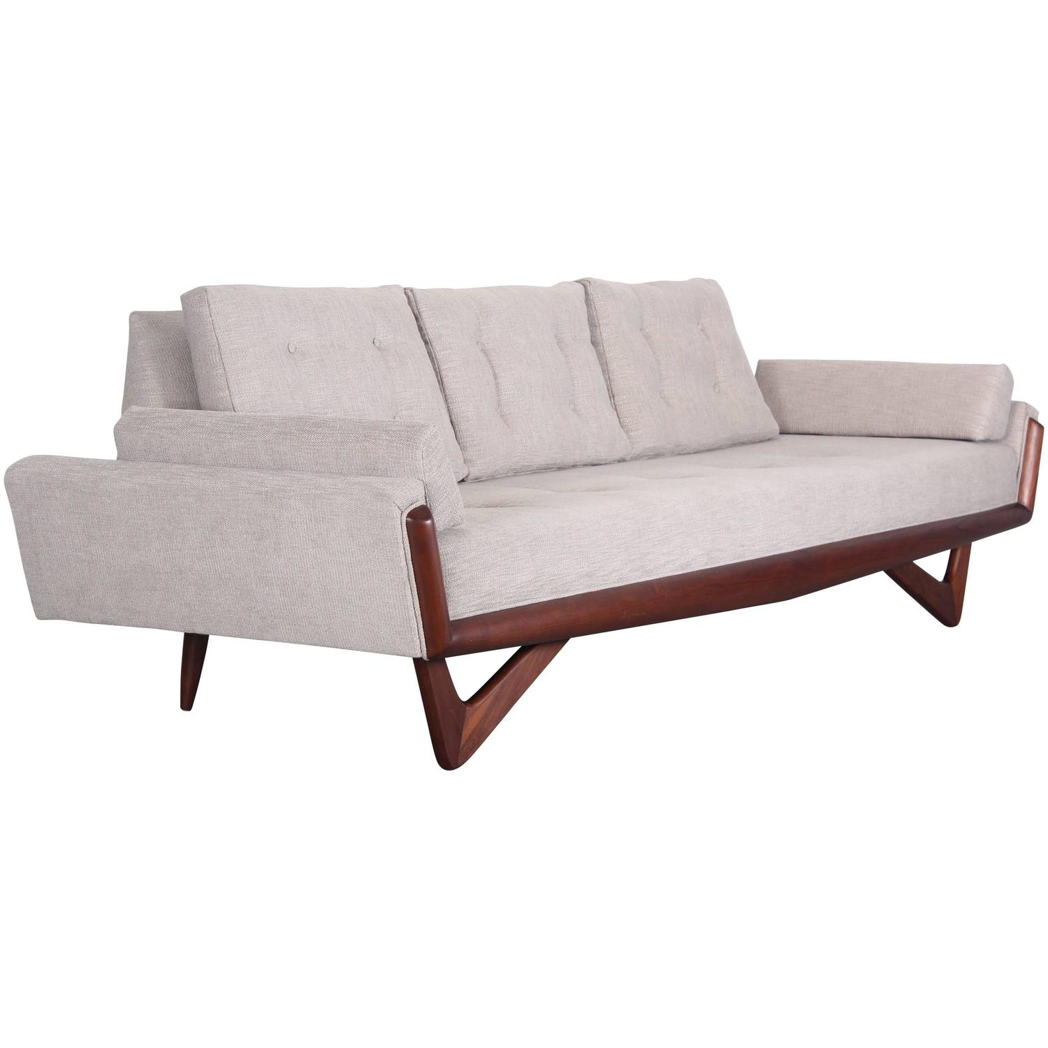 1960s Adrian Pearsall Sofa Model 2404S For Sale at 1stdibs
