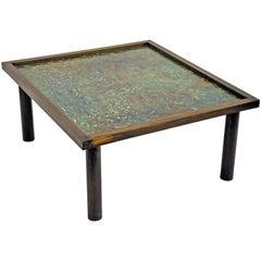 Philip Laverne, Signed Custom, Bronze Table