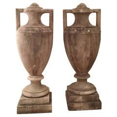 Pair of Stone Vases