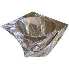 Orrefors Glass Tornado Bowl
