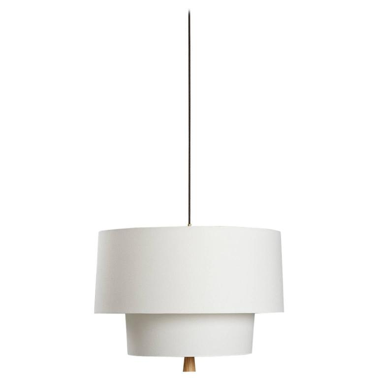 Nomen, Trimless Linen Pendant Light