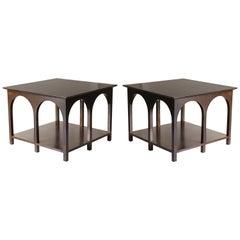Pair of Robsjohn-Gibbings Coliseum Tables