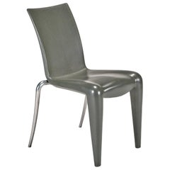Louis 20 Side Chair 'Prototype' in Grey by Philippe Starck for Vitra Edition