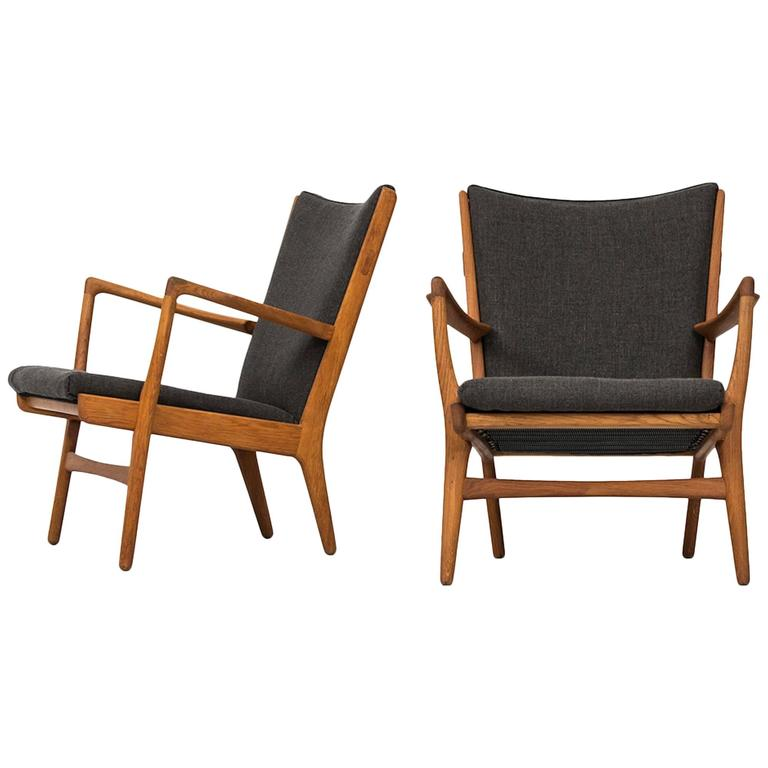 Hans Wegner Easy Chairs Model AP-16 by AP-Stolen in Denmark