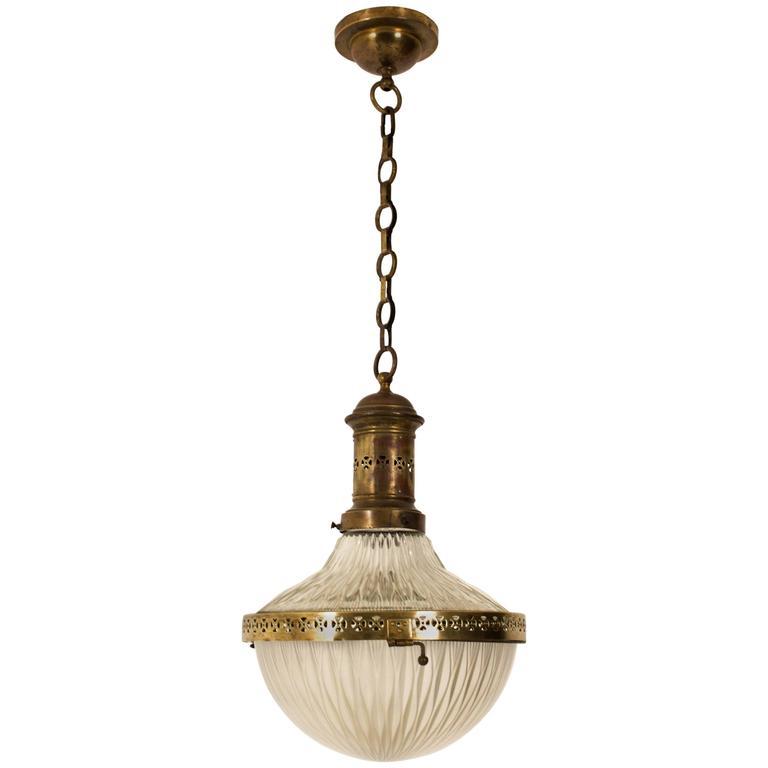Stunning French Art Deco Hall Lamp, 1930s