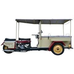 1948 Spiegel, BSA Motorbike Ice Cream Cart