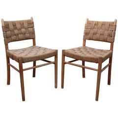 Frits Schlegel, Pair of Side Chairs, Model 1461